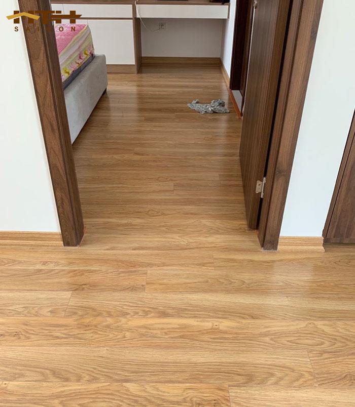 Công trình sàn gỗ KronoSwiss mã D2833 SA