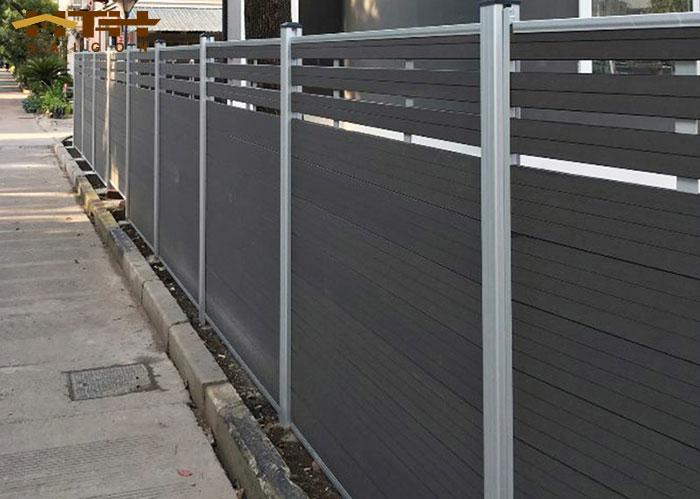 hàng rào gỗ nhựa wpc